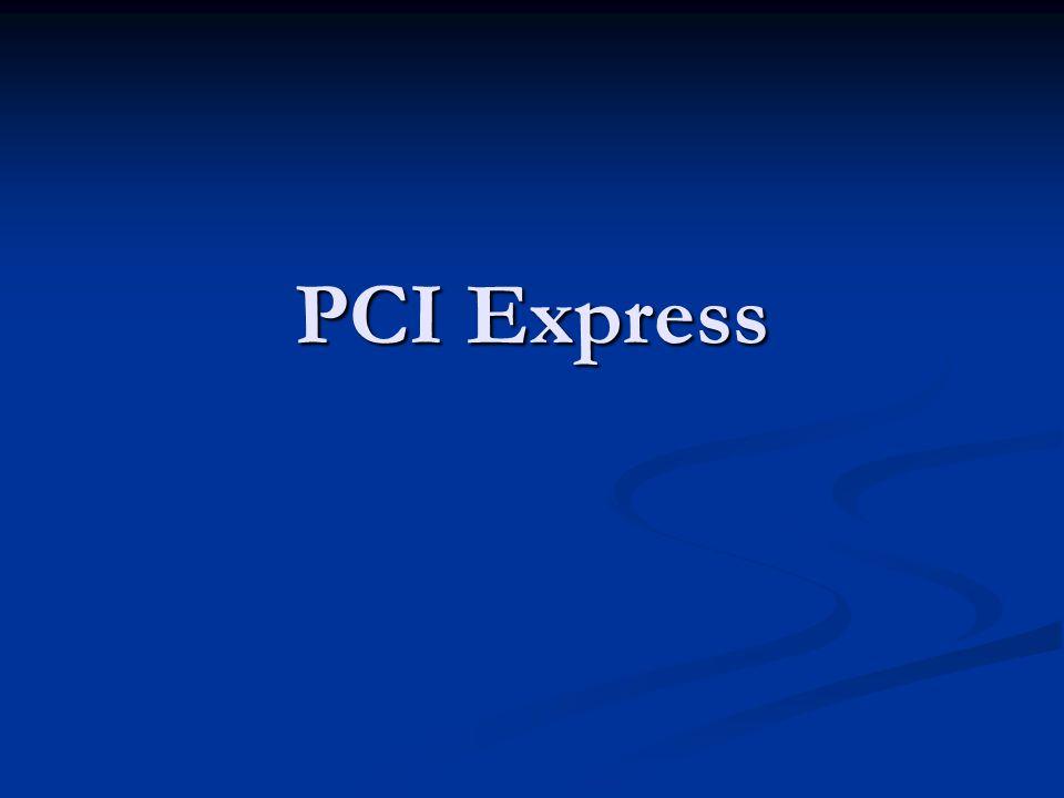 Latar belakang PCI merupakan bus I/O yang digunakan selama 10 tahun terakhir.