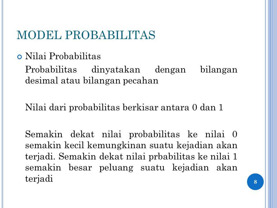 PENDEKATAN PERHITUNGAN PROBABILITAS (FREKUENSI RELATIF) Jawaban 19