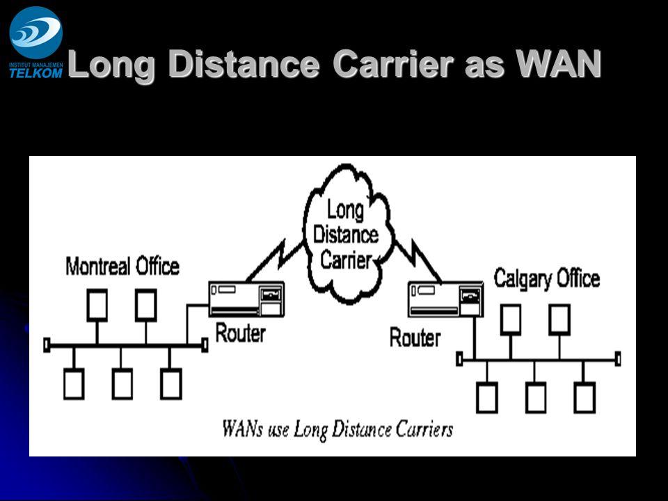 Long Distance Carrier as WAN