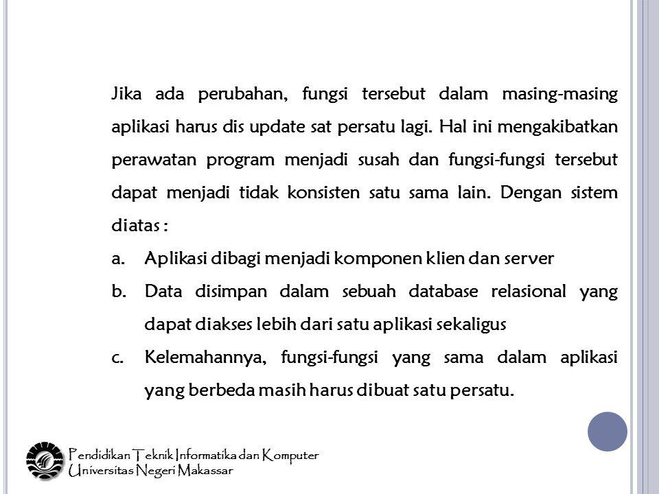 Pendidikan Teknik Informatika dan Komputer Universitas Negeri Makassar