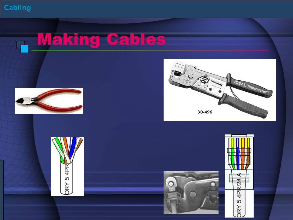 Making Cables Cabling