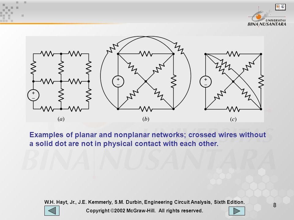 9 W.H.Hayt, Jr., J.E. Kemmerly, S.M. Durbin, Engineering Circuit Analysis, Sixth Edition.