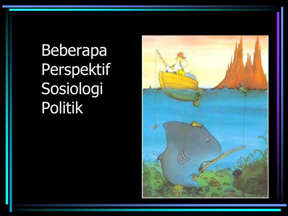 Perspektif mengatasi Dilema Dilema dalam ilmu-ilmu sosial (khususnya Sosiologi Politik) adalah tidak adanya konsensus baku untuk memahami berbagai fenomena politik.