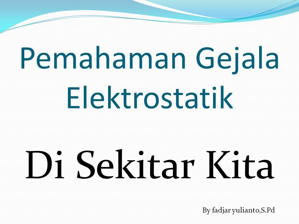 Pemahaman Gejala Elektrostatik Di Sekitar Kita By fadjar yulianto,S.Pd