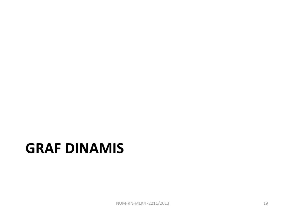 GRAF DINAMIS NUM-RN-MLK/IF2211/201319