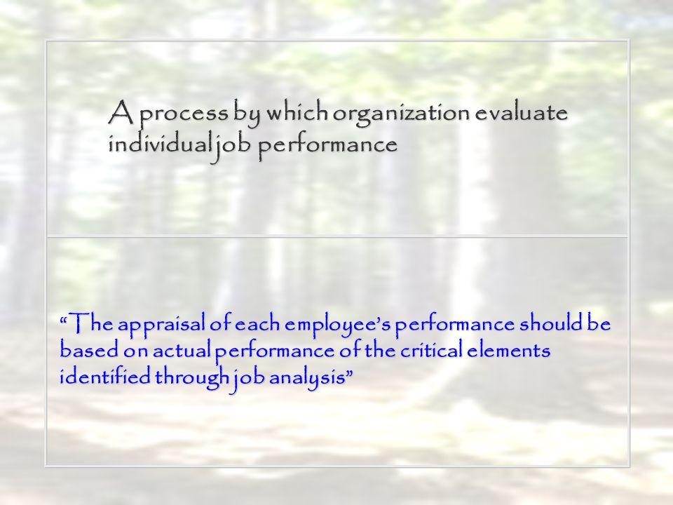 Dessler menyatakan alasan mengapa organisasi perlu menilai kinerja : Penilaian kinerja memberikan informasi tentang dilakukannya promosi dan penetapan gaji.