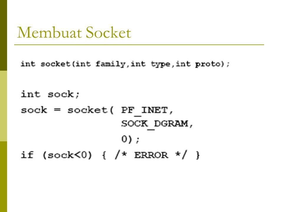 Membuat Socket