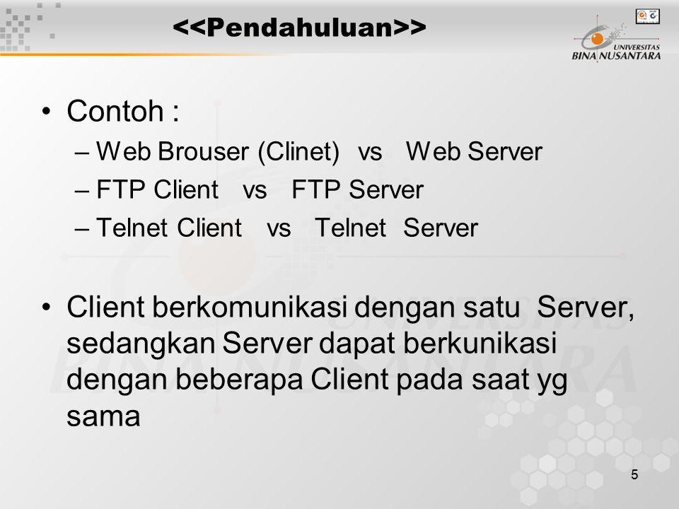 6 > Client Server Server handling multiple clients at the same time