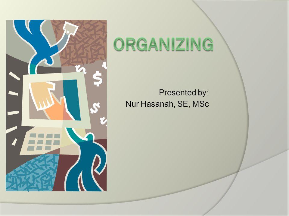 Presented by: Nur Hasanah, SE, MSc