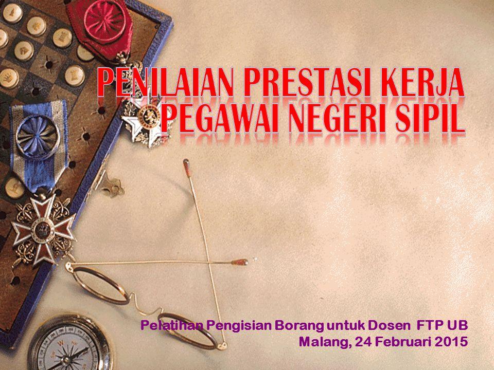 Pelatihan Pengisian Borang untuk Dosen FTP UB Malang, 24 Februari 2015