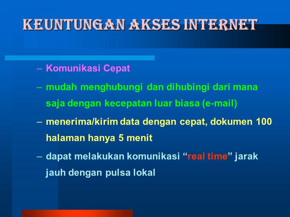 APLIKASI INTERNET Disampaikan dalam Pelatihan Komputer Jaringan Internet SD/SLTP/SMU/SMK se DIY Yogyakarta, 8 - 11 Juni 2004 Kerjasama JIS-DIY dengan