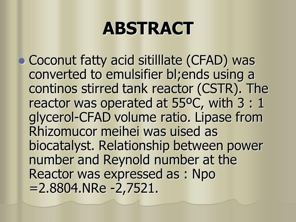 PENDAHULUAN Emulsi bahan pangan yang berupa campuran antara gliserol (MAG)dan diasil glisrol (DAG) menguasai pangsa pasar dunia sampai 75% (Gracia at.,1996).