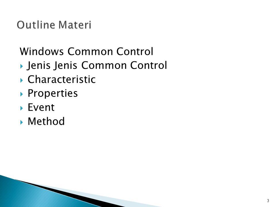  Control object bisa ditambahkan dari library yang ada : 4
