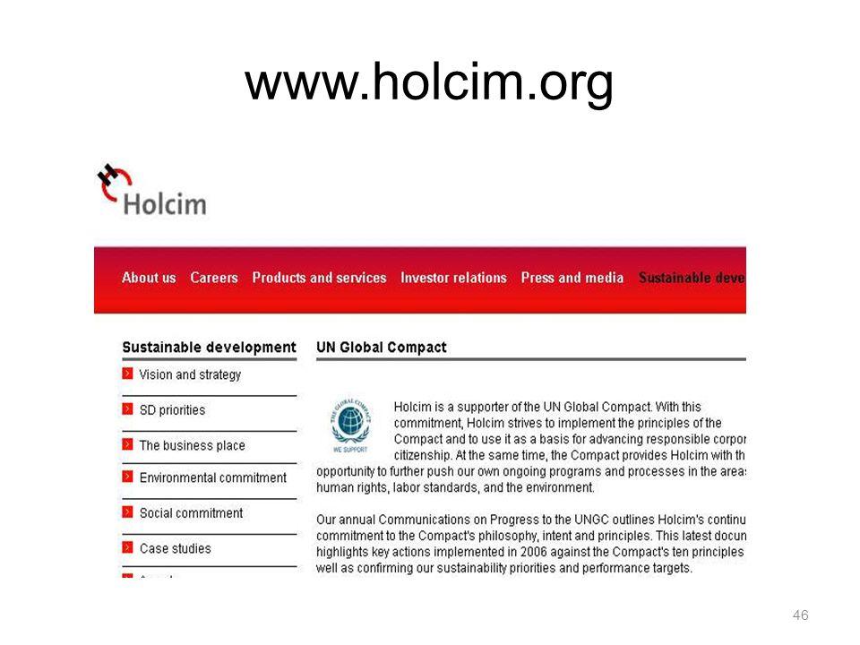 46 www.holcim.org