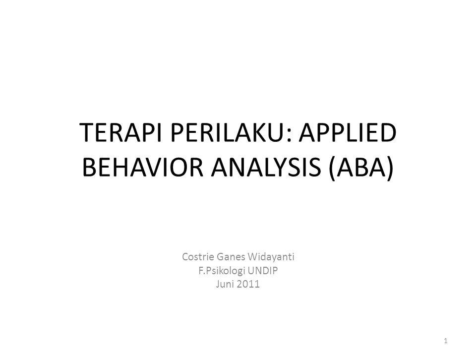 Langkah 1: Identifikasi perilaku yang tidak diharapkan Seperti apa perilaku yang ditunjukkan.