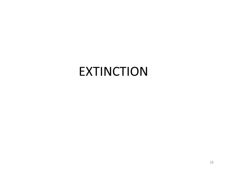 EXTINCTION 28