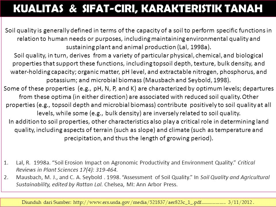 SOIL RATING CHART.Storie soil index rating = Faktor A x Faktor B x Faktor C x Faktor X FAKTOR B.