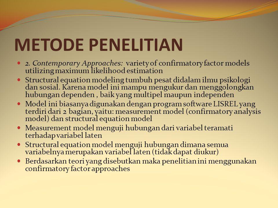 METODE PENELITIAN 2.