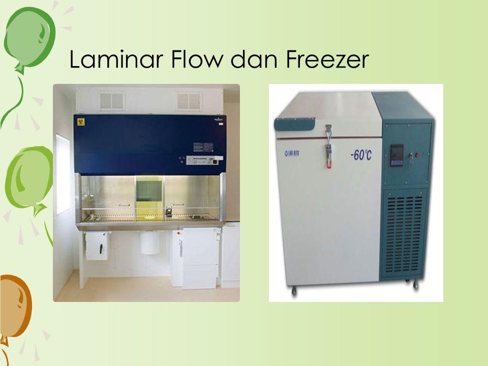 Laminar Flow dan Freezer