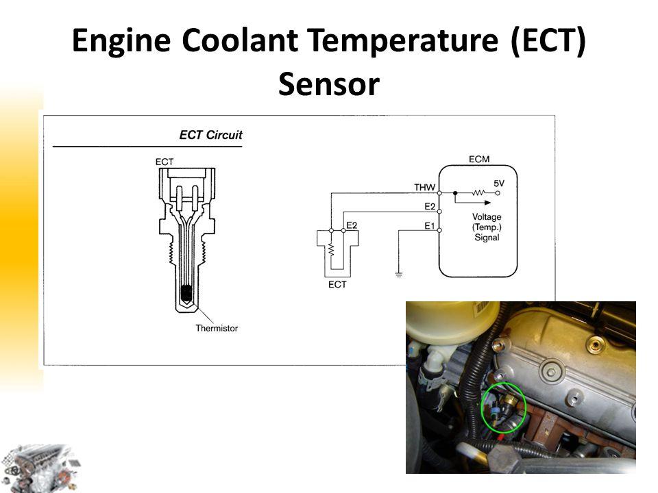 Sambungan… ECT merespon perubahan Suhu Cairan Pendingin Engine.