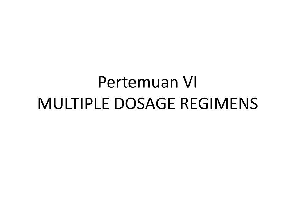 LOADING DOSE ( Multiple Dose )