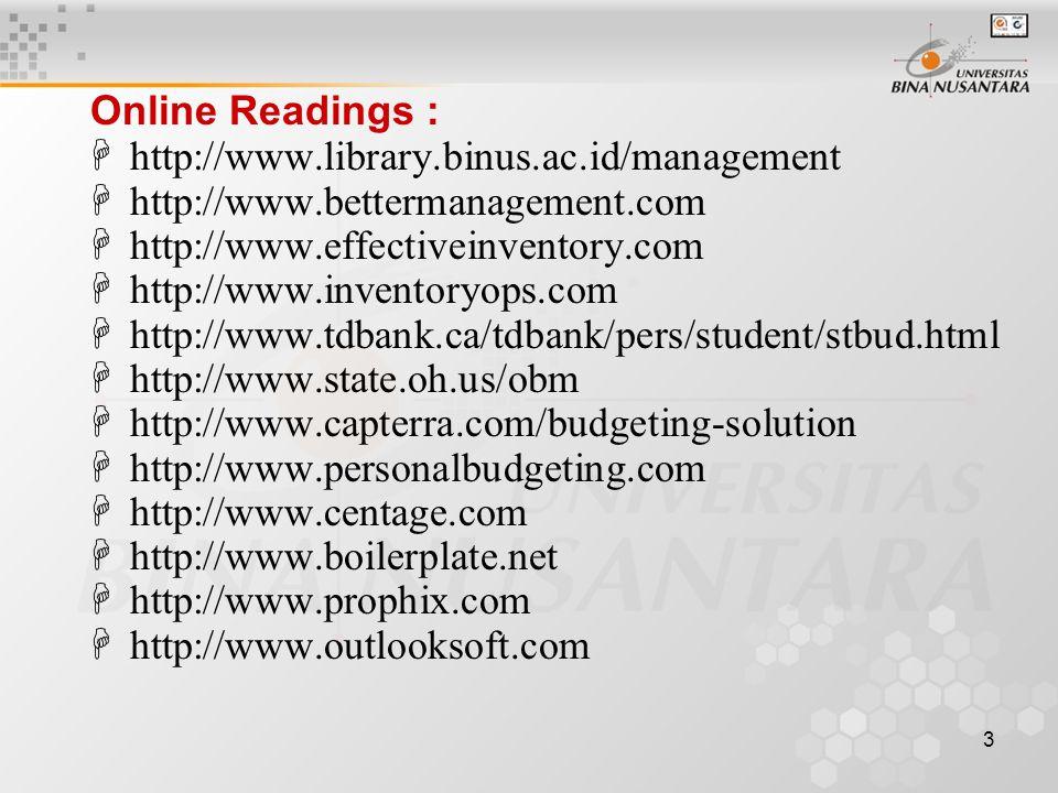 4 MATERI POKOK 1.Proses Manajemen 2. Dasar-2 Perencanaan & Pengendalian Laba 3.