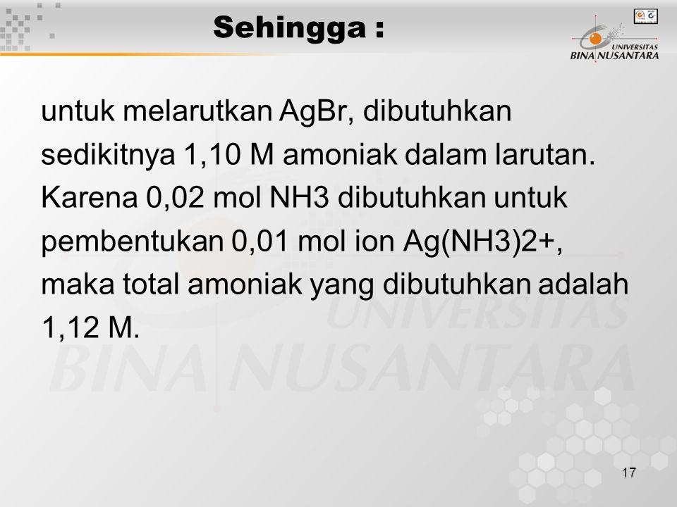 18 > Derajat keasaman ( pH ) larutan asam 7 pH asam lemah/basa lemah tergantung pada harga Ka/Kb nya.