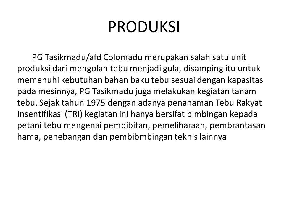 Agrowisata Sondokoro Selain memproduksi gula diatas, PG Tasikmadu juga memiliki usaha utama yaitu Agrowisata.
