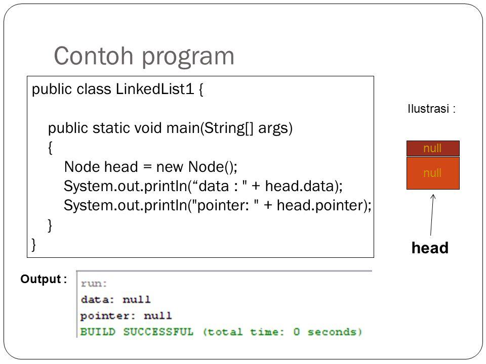 Pengaksesan Field pada Node Untuk mengakses field dari node menggunakan object node kemudian diikuti dengan tanda. (titik) Contoh : Mengakses data dar