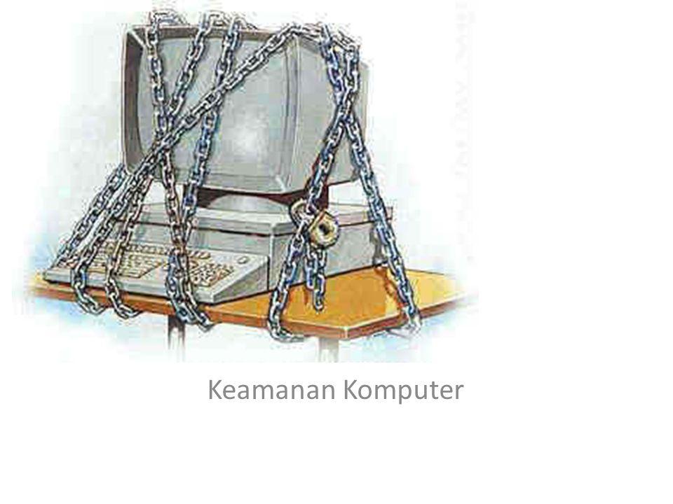 Apa Keamanan komputer adalah suatu cabang teknologi yang dikenal dengan nama keamanan informasi yang diterapkan pada komputer.