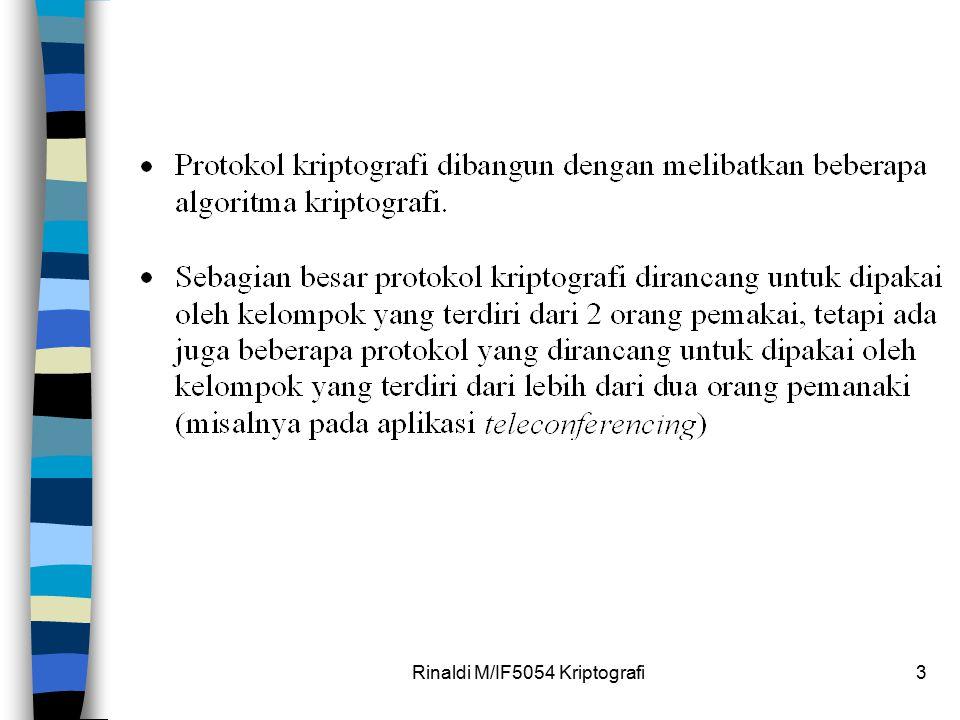 Rinaldi M/IF5054 Kriptografi3