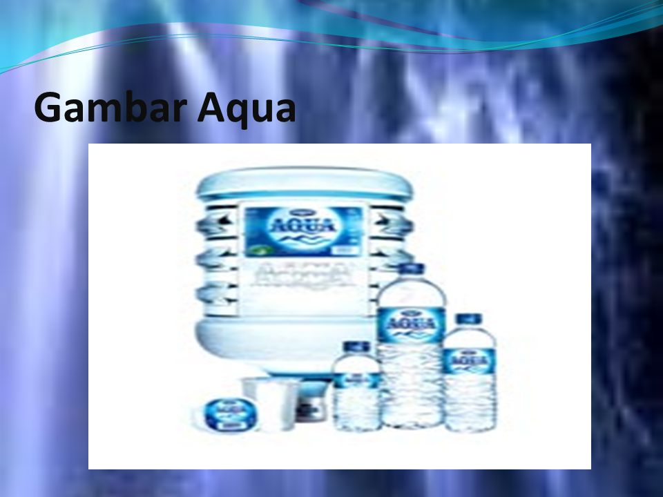 Gambar Aqua