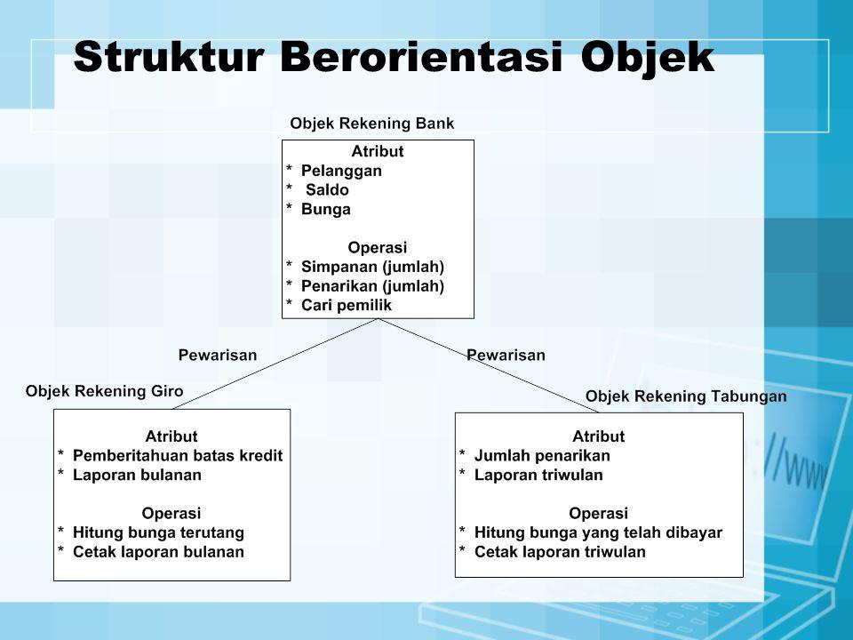 Struktur Berorientasi Objek
