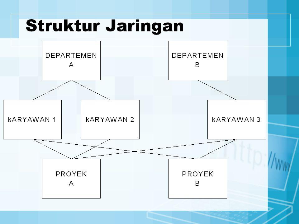 Struktur Jaringan