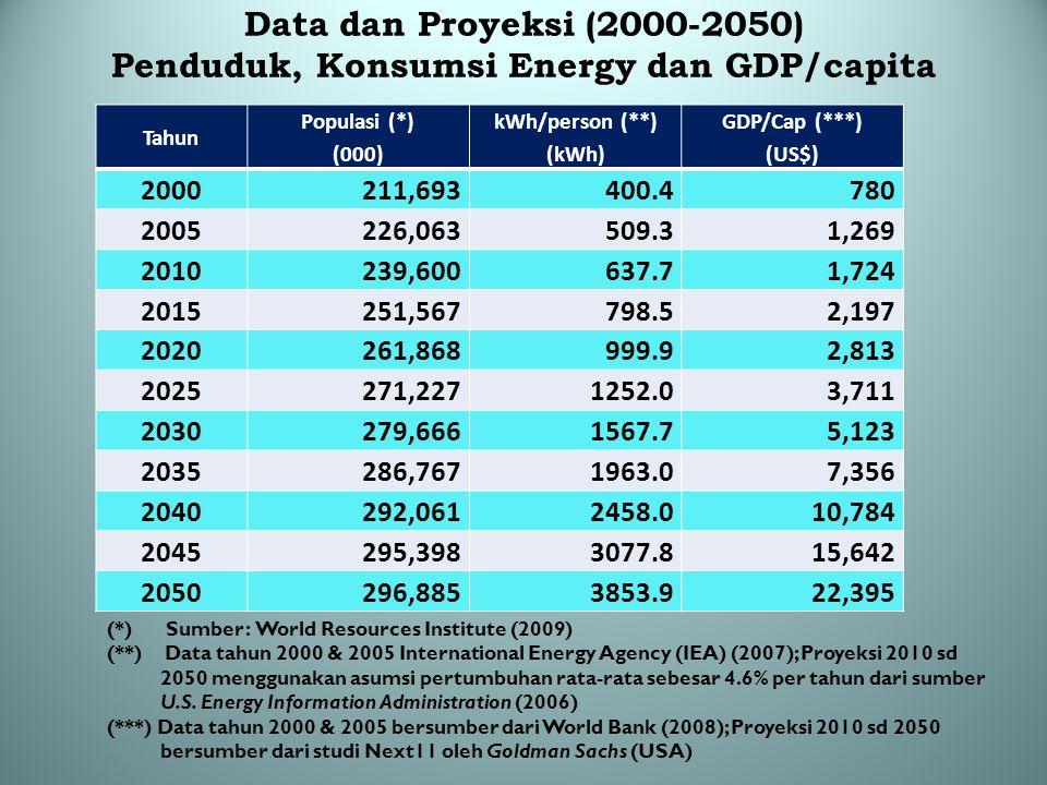 Beberapa Masukan Pengembangan Energi Indonesia di Masa Depan