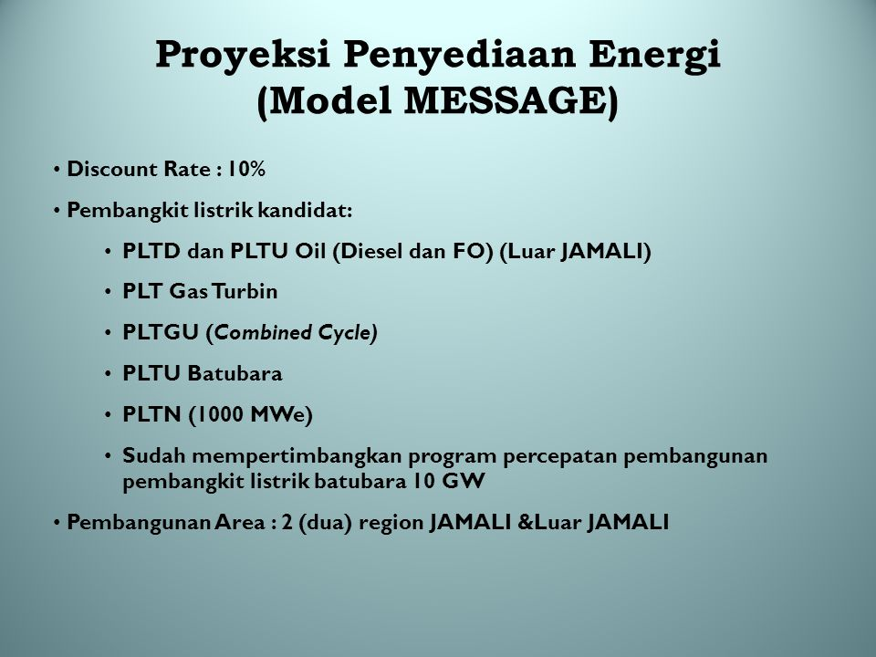 Data Penjualan Tenaga Listrik PLN (TWh) Wilayah20032004200520062007Rata-rata Indonesia90,54100,10107,03112,61121,25 Growth (%)3,8610,566,935,217,677,57 Jawa - Bali72,1979,9685,3989,0495,62 Growth (%)3,1910,776,794,287,397,28 Sumatera11,2212,3413,2814,5915,80 Growth (%)6,559,989,869,888,308,92 Kalimantan3,113,373,603,804,09 Growth (%)6,878,365,565,627,497,12 Sulawesi2,843,113,313,573,93 Growth (%)5,409,356,657,6410,208,45 IBT1,181,311,451,611,81 Growth (%)9,5411,5110,5710,8112,2711,29