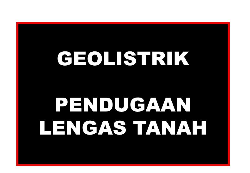 GEOLISTRIK PENDUGAAN LENGAS TANAH