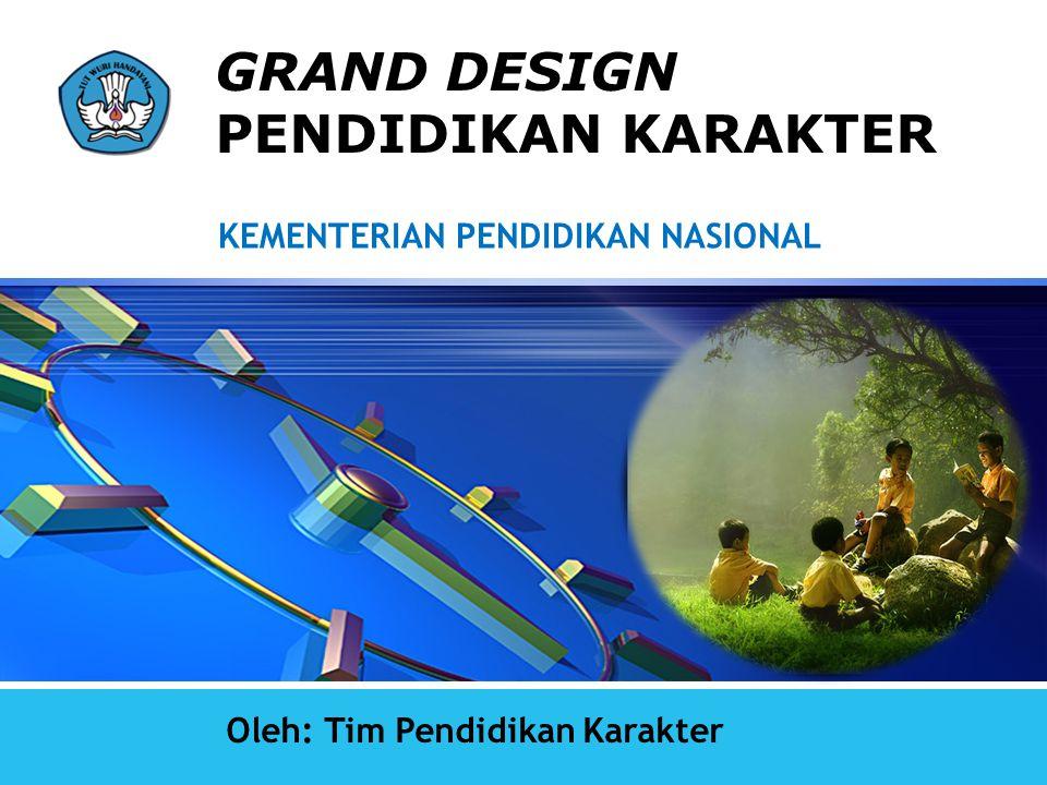 LOGO GRAND DESIGN PENDIDIKAN KARAKTER Oleh: Tim Pendidikan Karakter KEMENTERIAN PENDIDIKAN NASIONAL