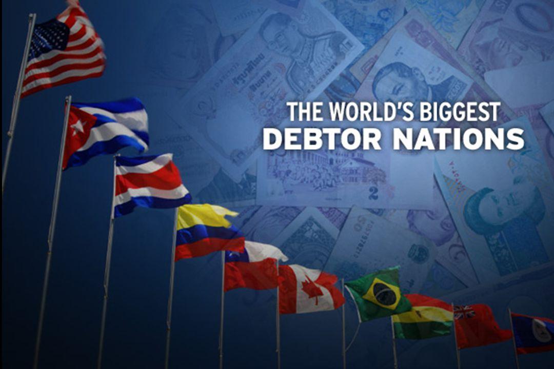 NoNATION 2008 GDP (est) Gross external debt (2009 Q1) External debt (as % of GDP) External debt per capita Income per capita 20.United States$14.26 trillion$13.454 trillion94.3%$43,793 $42,000 19.Hungary$196.6 billion$207.92 billion105.7%$20,990 18.Australia$800.2 billion$891.26 billion111.3%$41,916 17.Italy $ 1.823 trillion $2.310 trillion126.7%$39,741 16.Greece$343 billion$552.8 billion161.1%$51,483 15.Spain$1.403 trillion$2.409 trillion171.7%$59,457 14.Germany$2.918 trillion$5.208 trillion178.5%$63,263 13.Finland$193.5 billion$364.85 billion188.5%$69,491 12.Sweden$344.3 billion$669.1 billion194.3%$73,854 $39,694 11.Norway$275.4 billion$548.1 billion199%$117,604 $64,193