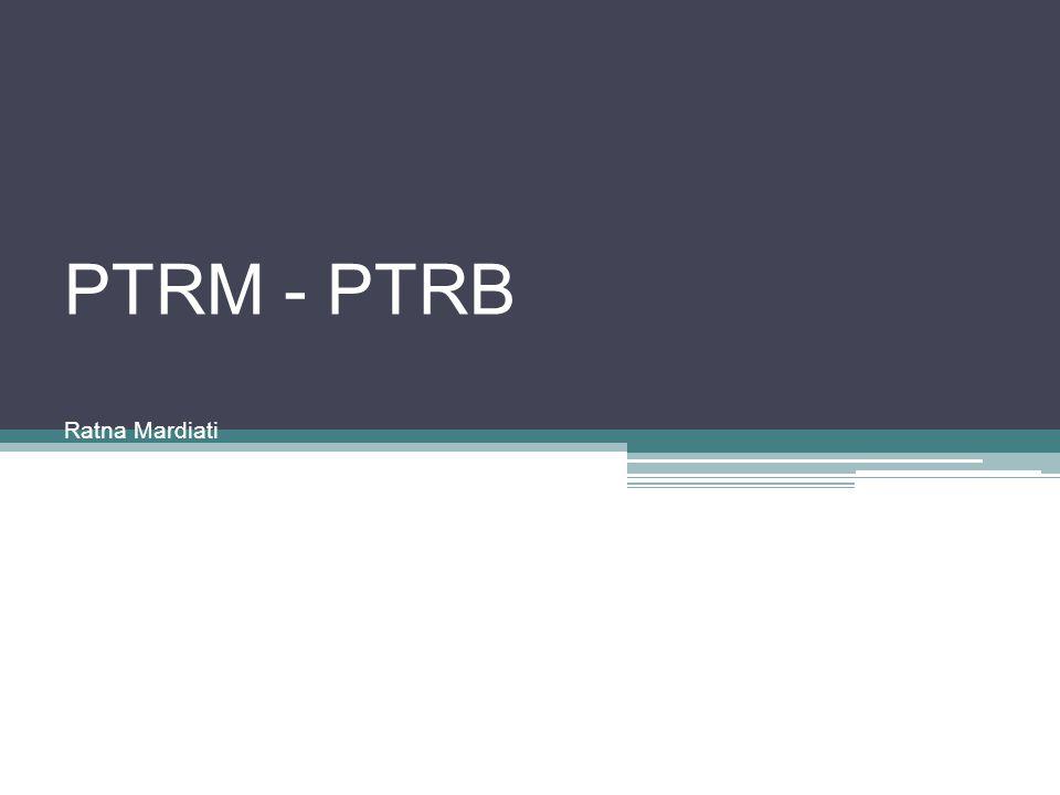 PTRM - PTRB Ratna Mardiati