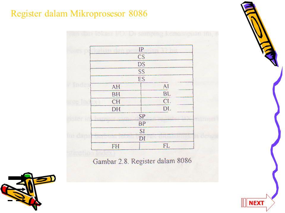 NEXT Register dalam Mikroprosesor 8086