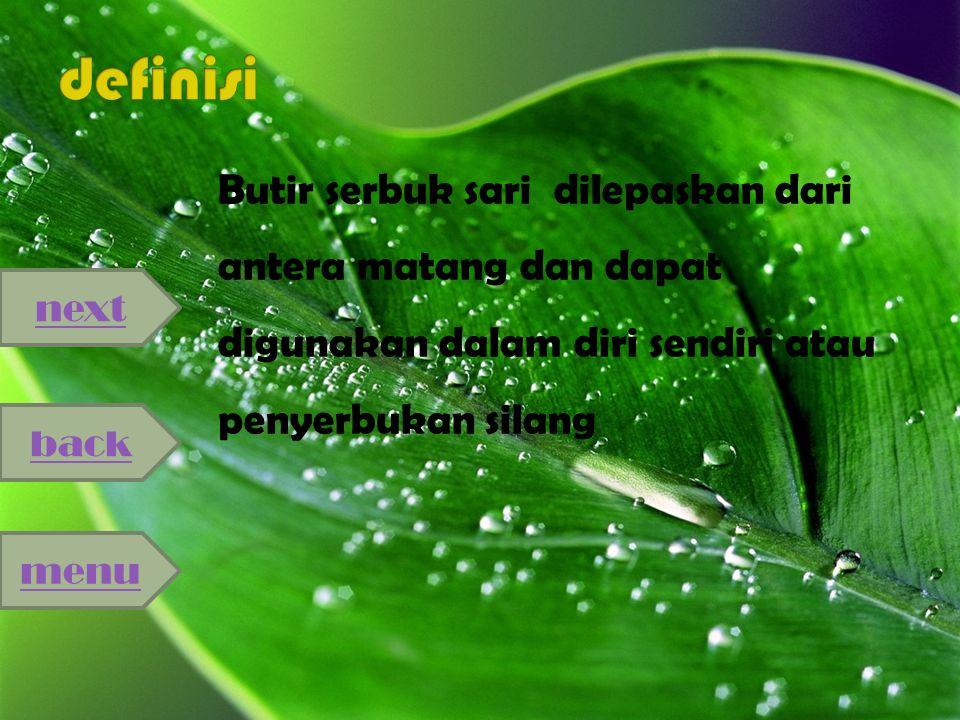 Pernyerbukan adalah proses penyatuan gamet jantan (benang sari) dan gamet betina (putik)
