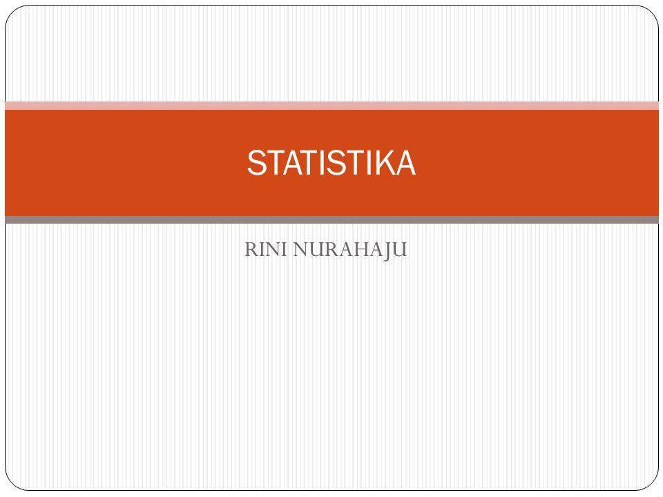 RINI NURAHAJU STATISTIKA