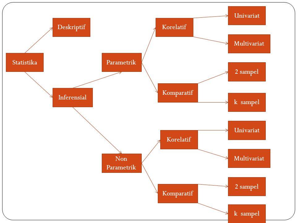 Dasar dasar Analisis Statistik Populasi dan sampel Variabel penelitian Independent Variable (IV) dan Dependent Variable (DV) Paradigma variabel penelitian Hubungan antara variabel Hipotesis