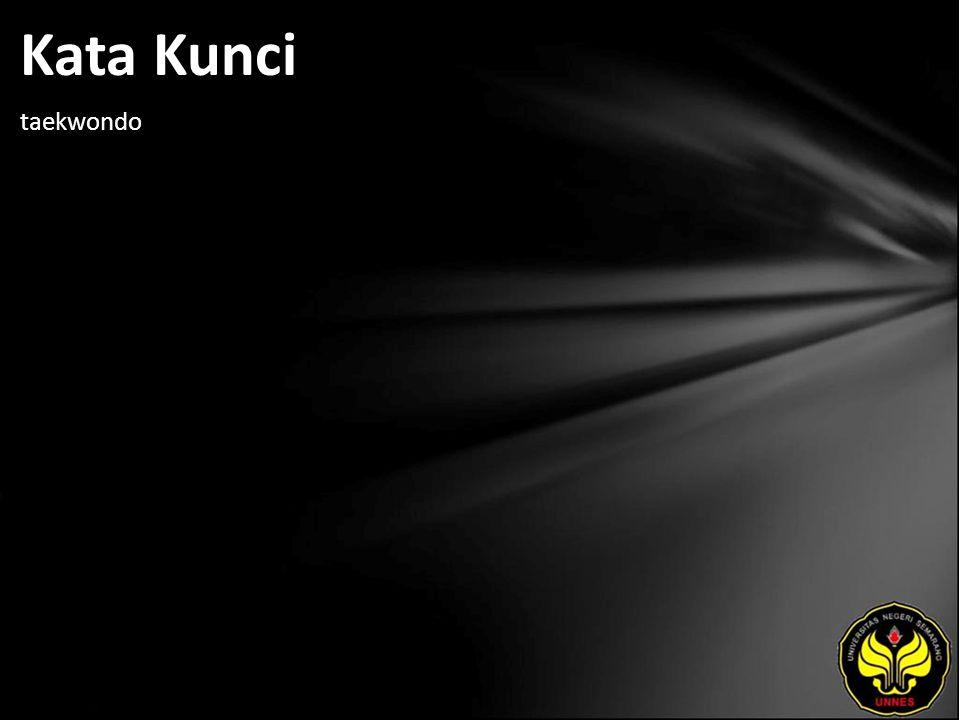 Kata Kunci taekwondo