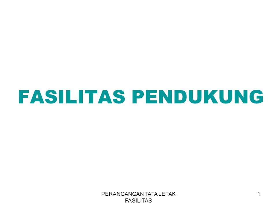 PERANCANGAN TATA LETAK FASILITAS 1 FASILITAS PENDUKUNG