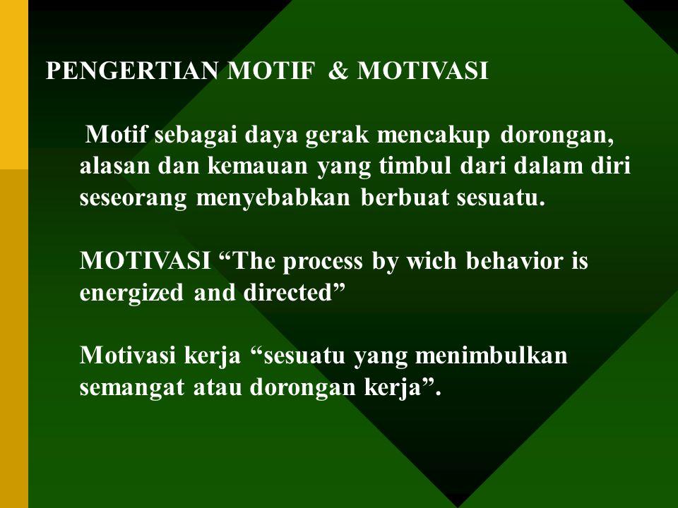 METODE MEMOTIVASI BAWAHAN (PERTEMUAN 12)