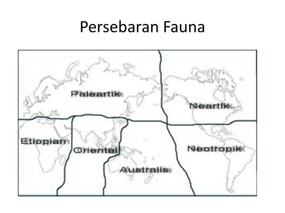 Wilayah Paleartik Meliputi Eurasia sebelah selatan, antara lain Afghanistan, Iran dan Afrika bagian utara dari Gurun Sahara.