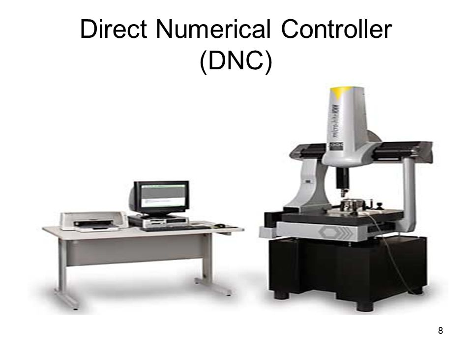 8 Direct Numerical Controller (DNC)‏