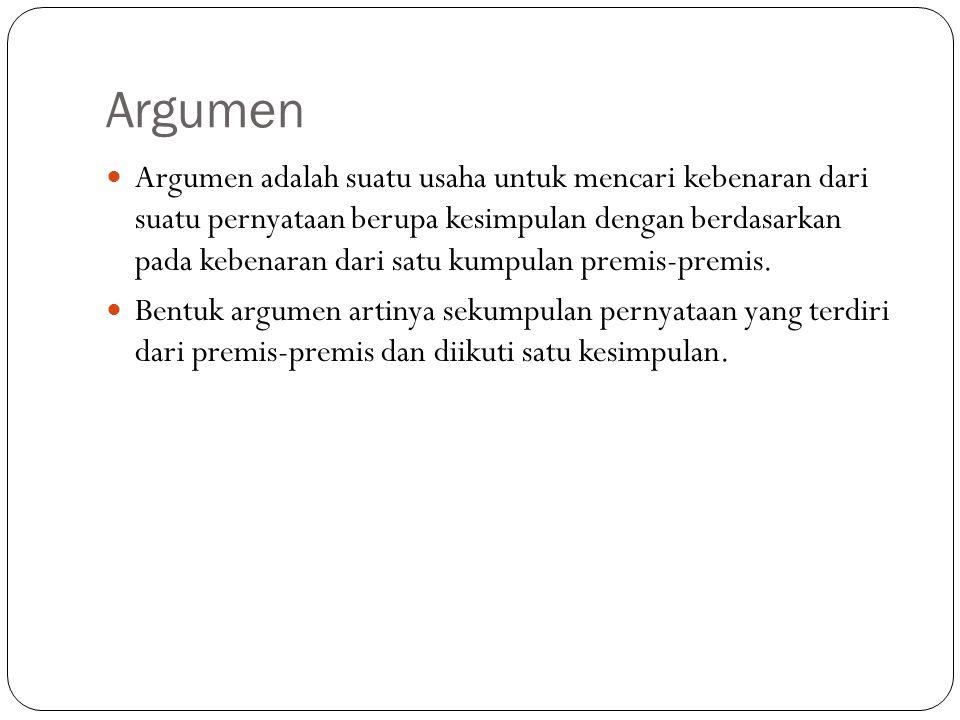 KUIS Jika Badu senang, maka Siti senang, dan jika Badu tidak senang, maka Siti tidak senang.